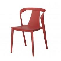447餐椅 (紅色,淺灰)