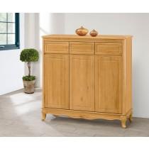 古典檜木色4尺鞋櫃(696)