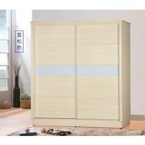 5666型6X7尺三拉衣櫥/衣櫃(共三色)