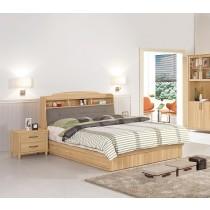 奈德5尺書架型雙人床