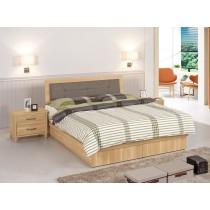 奈德5尺床片型雙人床