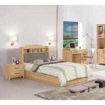 奈德3.5尺書架型單人床