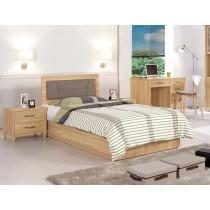 奈德3.5尺床片型單人床