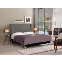 多娜達5尺雙人床(灰色布)