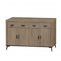 灰橡5尺餐櫃(下座)(B632)