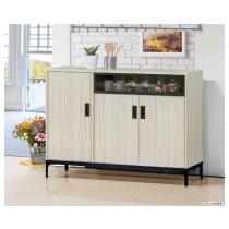 凱野4尺餐櫃/碗盤櫃(共兩色)