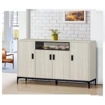 凱野5尺餐櫃/碗盤櫃(共兩色)