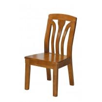 753型柚木色實木餐椅