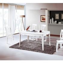 凱達4.3尺白色餐桌(不含椅)