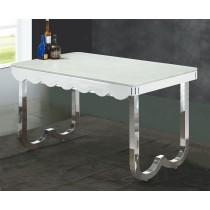 達野4.6尺白色石面餐桌