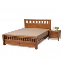 雪莉6尺實木雙人床(不含床頭櫃)