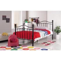 凱特兒3.5尺黑色鐵床床架(FB136)