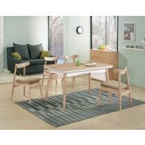 穎視橡木色4.3尺餐桌(不含椅)