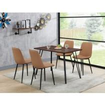 迪城4尺餐桌(1桌4椅)