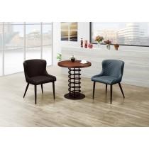 安捷2.3尺實木圓桌(1桌2椅)(椅共兩色)