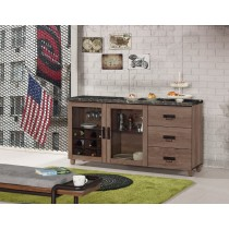 哈珀5.2尺石面餐櫃