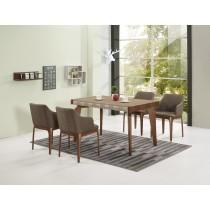巴斯卡4.4尺餐桌(1桌4椅)