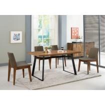 提姆4.3尺餐桌(1桌4椅)艾略特布餐椅