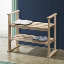 日式三段式扶手穿鞋輔助椅