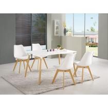 妮亞4尺休閒桌(1桌4椅)