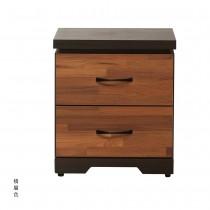艾曼積層色床頭櫃