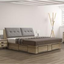 尼諾5尺床箱型床台組(不含床頭櫃)