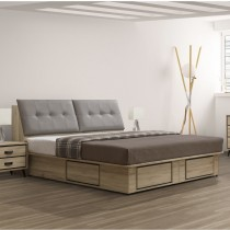 尼諾6尺床箱型床台組(不含床頭櫃)