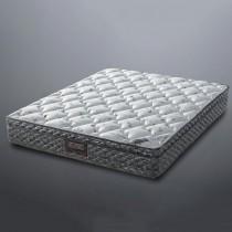 5尺莫代爾纖維乳膠獨立筒雙人彈簧床