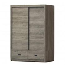 雲灰5 X 7尺衣櫥(3-060)