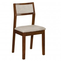 澤愷實木皮餐椅/休閒椅