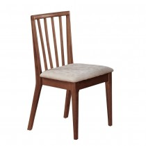 曼奇尼實木皮餐椅/休閒椅