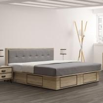 尼諾5尺床片型床台組(不含床頭櫃)