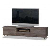 貝克6尺灰橡色電視櫃/長櫃