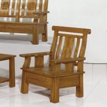 8856型實木單人椅/單人座