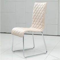 普都鐵製皮餐椅/休閒椅(4入)
