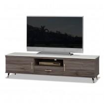 貝克6尺灰橡色石面電視櫃/長櫃