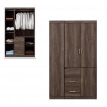 凱爾 4 X 7尺灰橡色衣櫥/衣櫃
