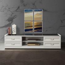 卡羅拉白色7尺電視櫃