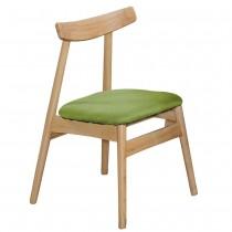 慕弈實木布餐椅/休閒椅