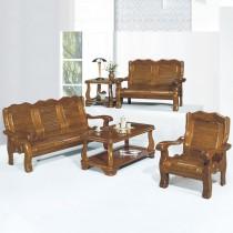 8012型實木組椅(全組)共兩色(附坐墊)