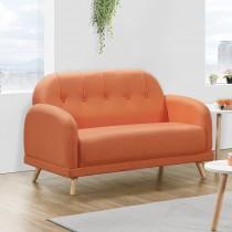 貝利諾二人座布沙發(共兩色)