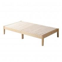 日式松木實木3.5尺床架(不含床墊)