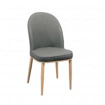 清松皮餐椅/休閒椅(共兩色)