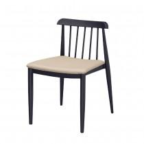 C1136型胡桃色餐椅/休閒椅