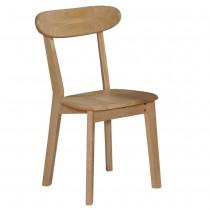 華晶實木餐椅/休閒椅(共兩色)