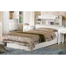 仙朵拉3.5尺被櫥式單人床(床頭+床底)(不含床頭櫃)