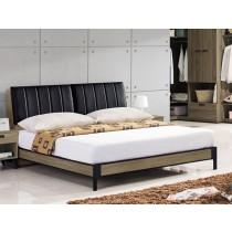 亞力士5尺床頭式床台