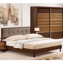 卡爾頓6尺床片型床台(807+803)(不含床頭櫃)