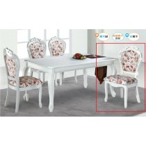 627白色餐椅(單只)