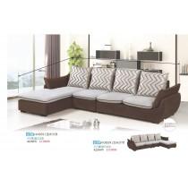 KX389 L型布沙發
